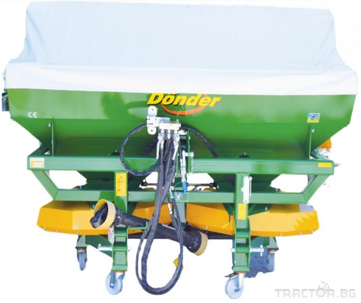 Торачки Двудискова навесна торачка Donder CGSA 2500 0 - Трактор БГ