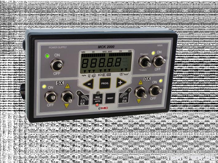 Прецизно земеделие Система за автоматично поддържане на нормата на прилагане - MC Electronics MCM 2000 1
