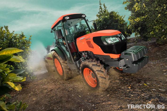Трактори Kubota M5101N 1 - Трактор БГ