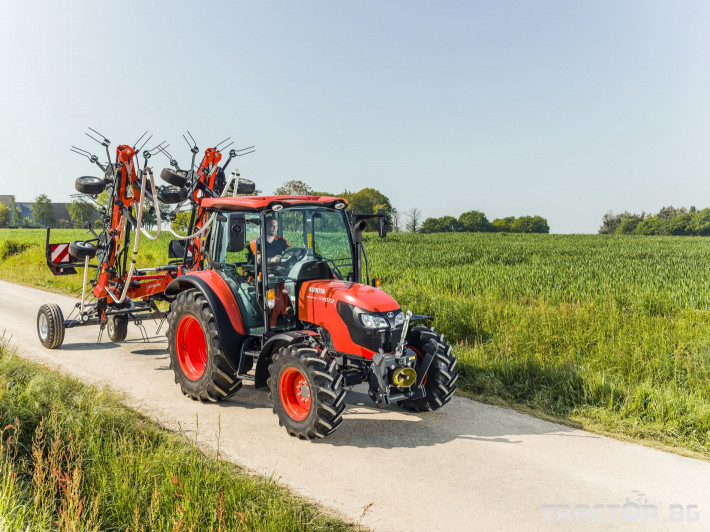 Трактори Kubota M4062 3 - Трактор БГ