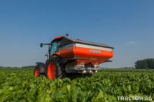 Kubota DSM-W GEOSPREAD + ISOBUS навигационна система TOPCON X25 + ISOBUS окабеляване за трактор